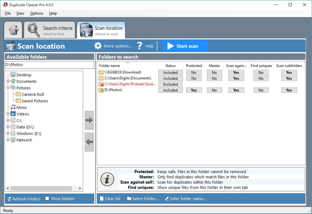 Duplicate Cleaner - Remove duplicate files