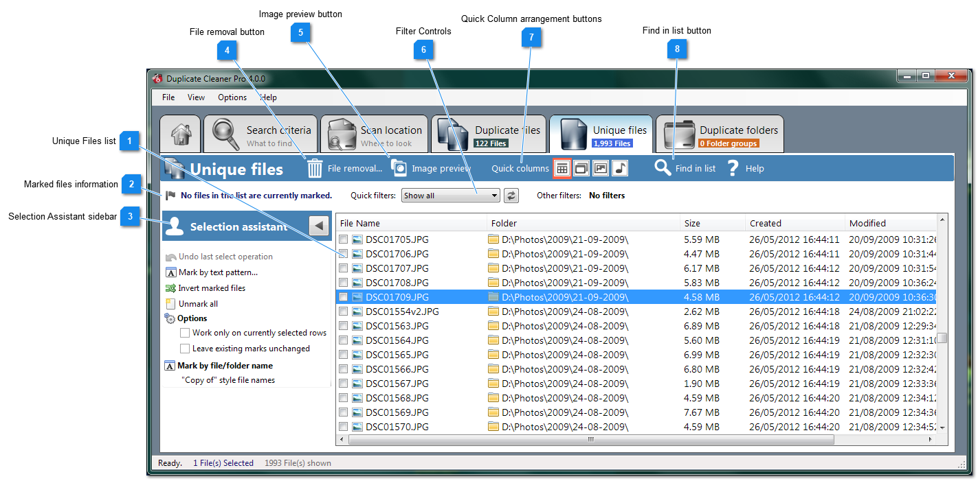how to use duplicate cleaner pro 4